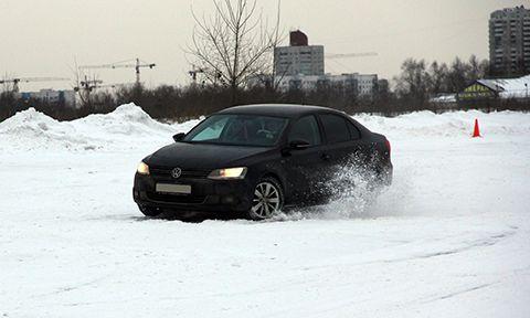 Снос при вождении автомобиля
